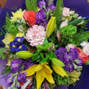 Florist Design Bouquet. Away With Flowers. Mundingburra Florist.