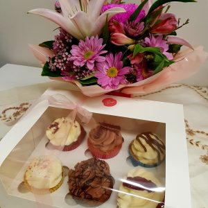 Cupcakes and Blooms