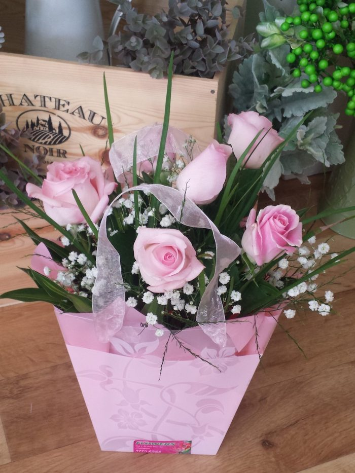 Roses. Away With Flowers. Mundingburra Florist.