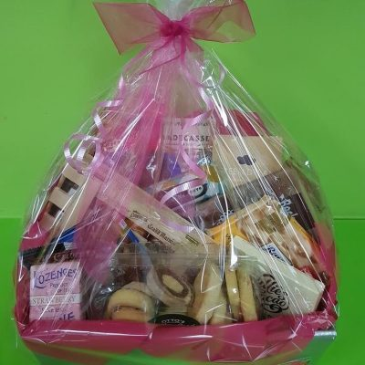 Away With Flowers Logo. Mundingburra Florist. Classic Hamper