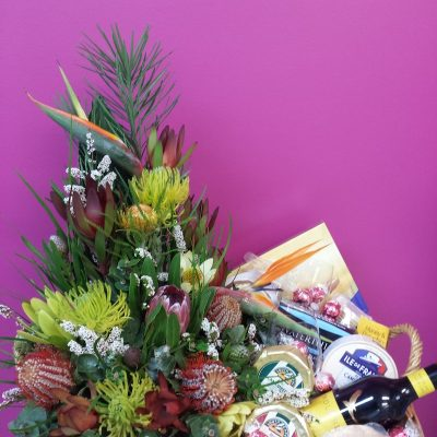 Corporate Hamper. Away With Flowers. Mundingburra Florist.