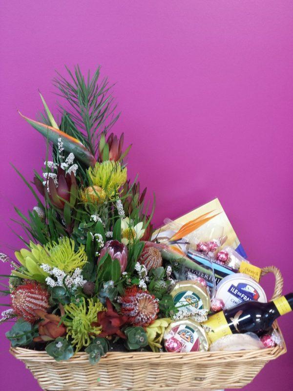 Corporate Hamper. Away With Flowers. Mundingburra Florist.