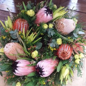 Native Wreaths. Away With Flowers. Mundingburra Florist.
